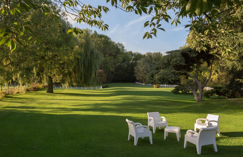 Nature, parc du Domaine de la Chanterelle