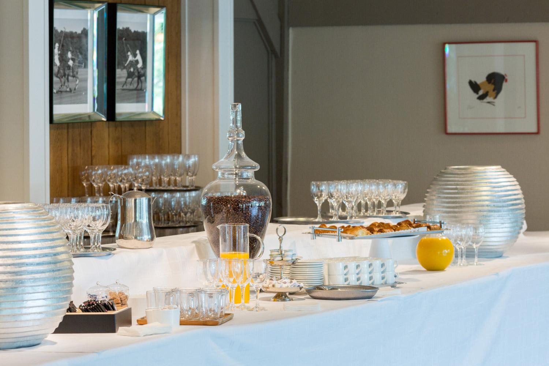accueil café séminaire, petit déjeuner