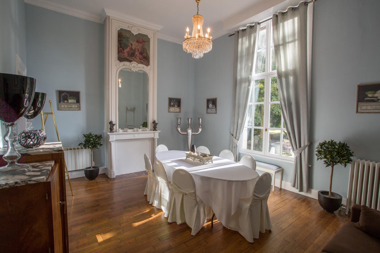 Déjeuner d'entreprise au Château de Prémesques